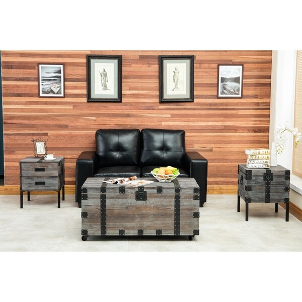 Burke Trunk Occasional Table Set