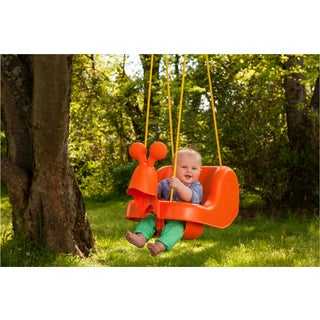 Creative Cedar Designs Snail Toddler Swing with Rope