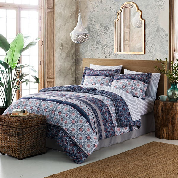Style Décor 8-Piece Bed-in-a-Bag Comforter Set