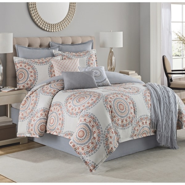 Style Décor Tasha 10-Piece Cotton Comforter Set