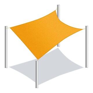 ALEKO Rectangle 10 X 10 Feet Waterproof Sun Shade Sail Canopy Tent Replacement
