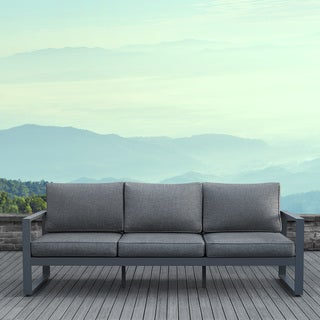 Real Flame Baltic Outdoor 3-seat Sofa