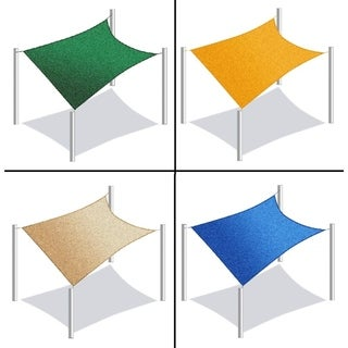 ALEKO Rectangle 10 X 6.5 Feet Waterproof Sun Shade Sail Canopy Tent Replacement