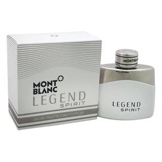 Mont Blanc Legend Spirit Men's 1.7-ounce Eau de Toilette Spray