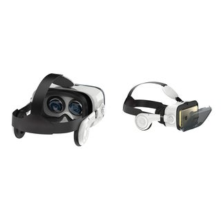 Virtual Reality Headset w/ Built-in Headphones