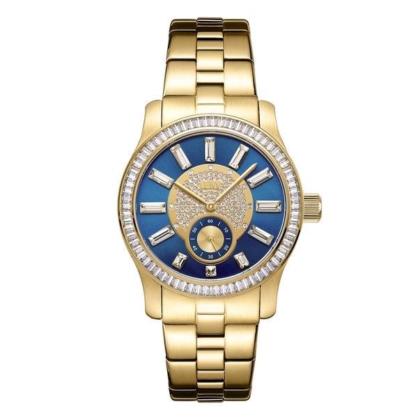6dd23b865 Shop JBW Women's Celine.09 ctw 18k gold-plated stainless-steel ...