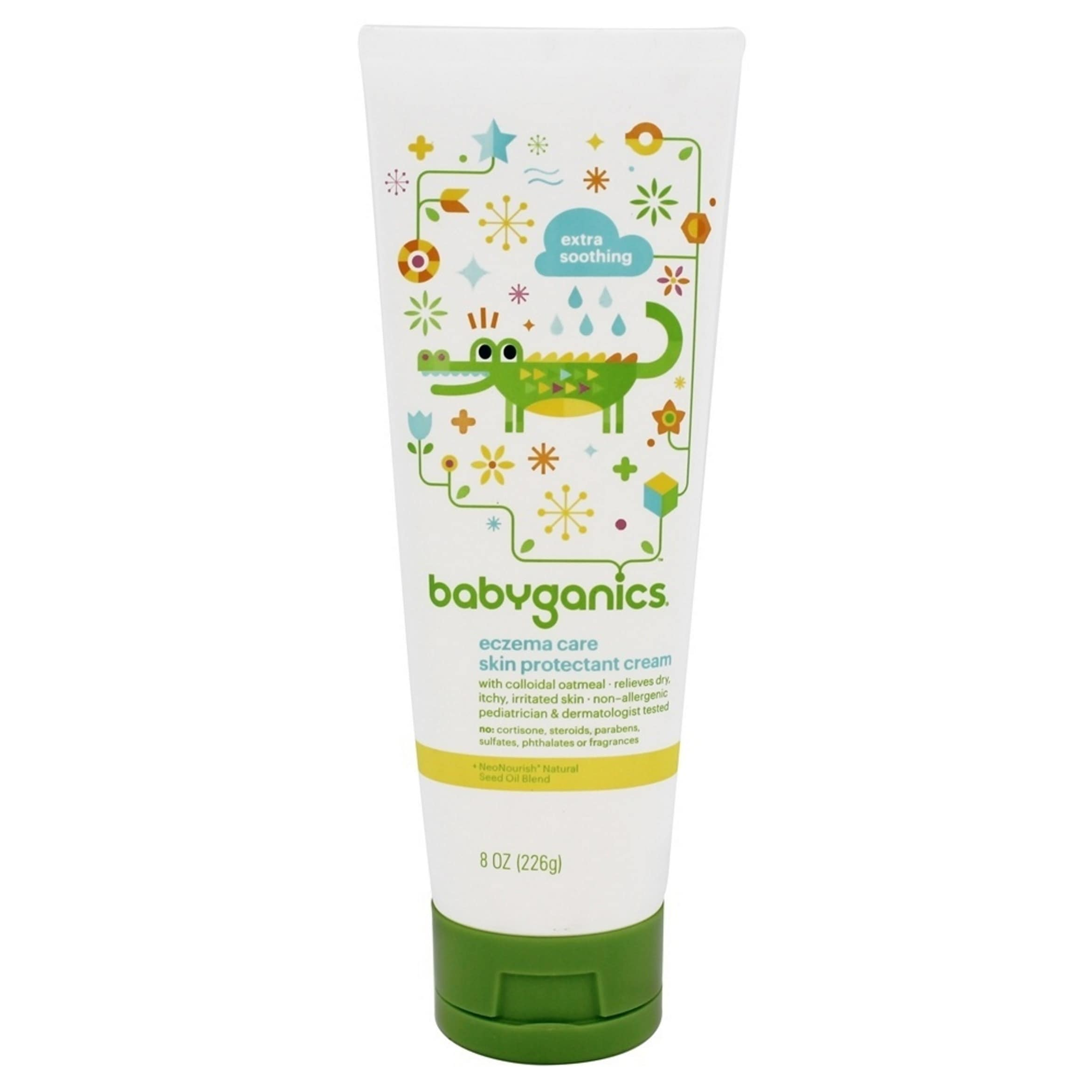 BabyGanics Moisturizing Eczema Care Skin Protectant Cream...