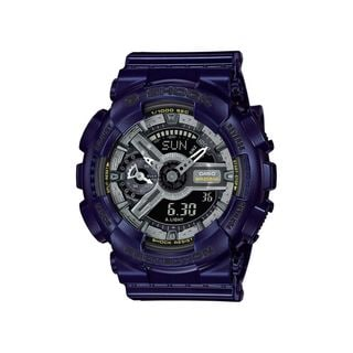 Casio Men's GMAS110MC-2A 'G-Shock' Analog-Digital Blue Resin Watch