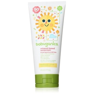Babyganics Mineral Based Sunscreen Lotion 50 SPF - 6 Ounce