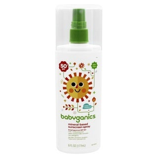 Babyganics Mineral Based Sunscreen Spray SPF 50 - 6 Ounce