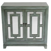 Geo Double-door Sideboard with Mirror Inserts