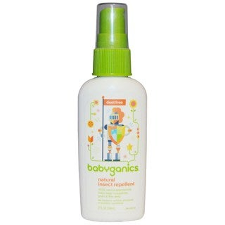 Babyganics Natural Deet Free Insect Repellent - 2 Ounce