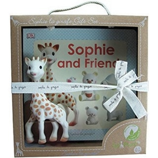 Vulli Set Sophie La Girafe and Sophie and friends book