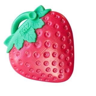RaZbaby RaZ-Berry Silicone Teether - RaZ-Fresa