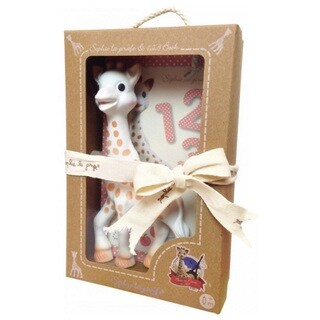 Vulli Set Sophie La girafe and 1, 2, 3 Book
