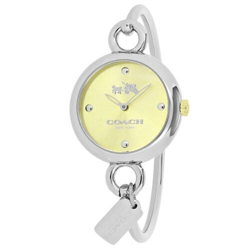 Coach Women's 14502689 Fashion Watch (Fashion Gold tone),...