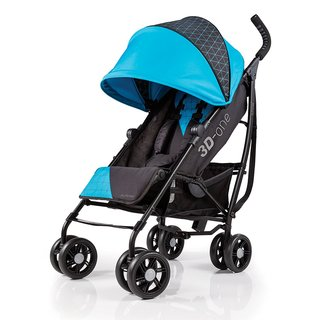 Summer Infant 3D-One Convenience Stroller - Geometric Blue