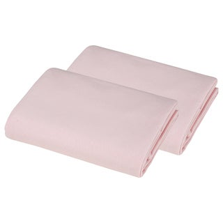 American Baby Company Supreme Jersey Pink Bassinet Sheet (Pack of 2)