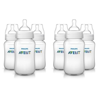 Philips Avent Anti-Colic Baby Bottle - 11 Ounce - 6 Count