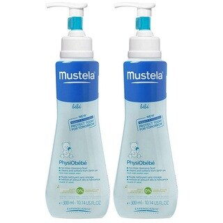 Mustela PhysiObebe No-Rinse Cleansing Fluid - 10.14 Ounce - 2 Pack