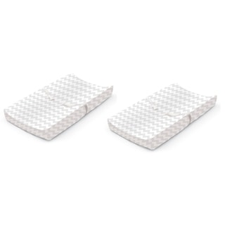 Summer Infant Ultra Plush Changing Pad Cover - Chevron - 2 Count
