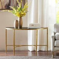 Madison Park Mario Gold Console Table