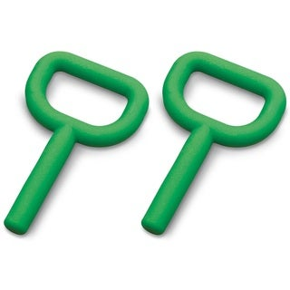 Chewy Tubes Super Chew Smooth Teether - Green - 2 Pack