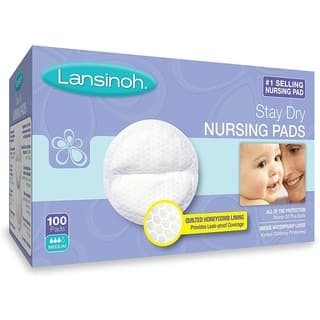 Lansinoh Disposable Nursing Pads - 100 Count|https://ak1.ostkcdn.com/images/products/16635287/P22959590.jpg?impolicy=medium