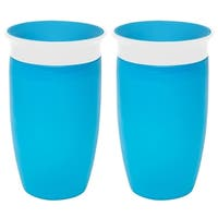 Munchkin Miracle 360 Sippy Cup - Blue - 10 Ounce - 2 Count