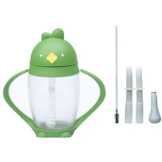 Lollacup Infant And Toddler Straw Cup with Straw Replacement Pack - Green