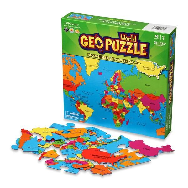 Geotoys World GeoPuzzle