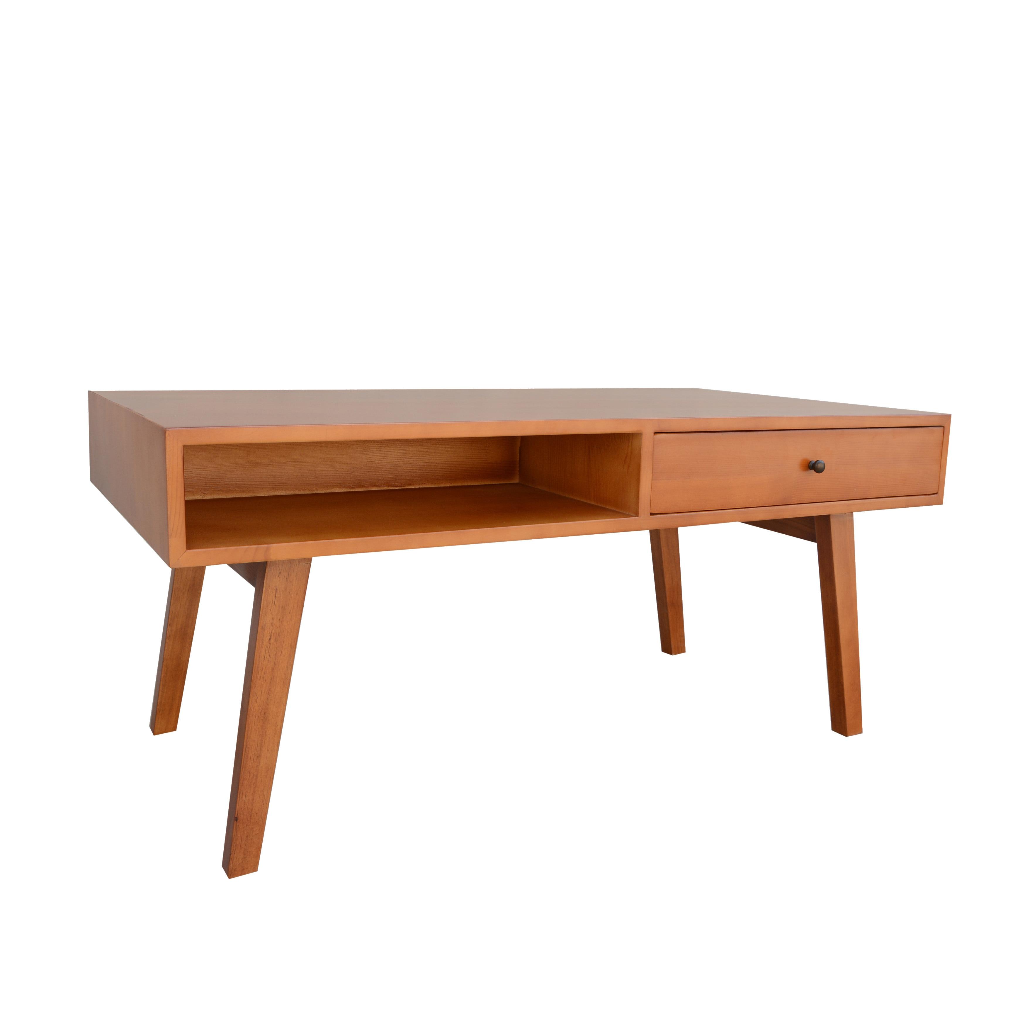 George Oliver Ripton Mid Century Modern Coffee Table: Porthos Home Mid-Century Mansfield Coffee Table