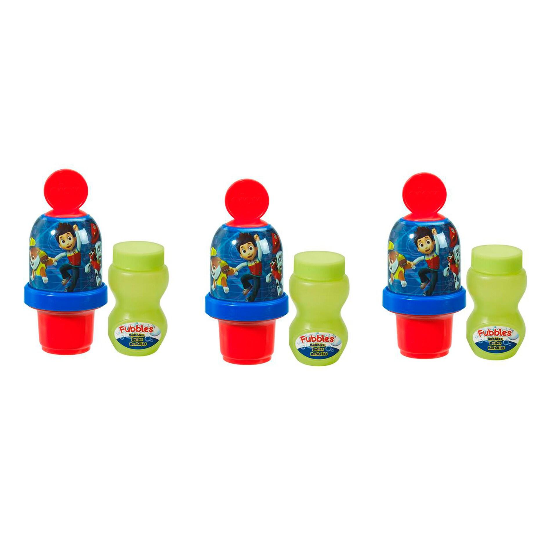 Little Kids Paw Patrol Boy Mini Bubble Tumbler 3 Pack (1)...