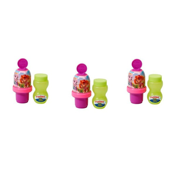 Little Kids Paw Patrol Girl Mini Bubble Tumbler 3 Pack