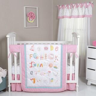 Trend Lab Alphabet Cake 4-piece Crib Bedding Set