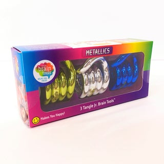 Tangle BrainTools Tangle Jr Metallic 3 Pack