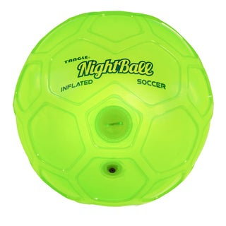 Tangle Green Size 5 Night Soccer Ball