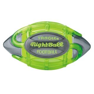 Tangle Large Green Body/Gray Tips NightBall Football