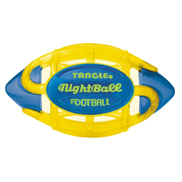 Tangle Small Yellow Body/Blue Tips Night Football