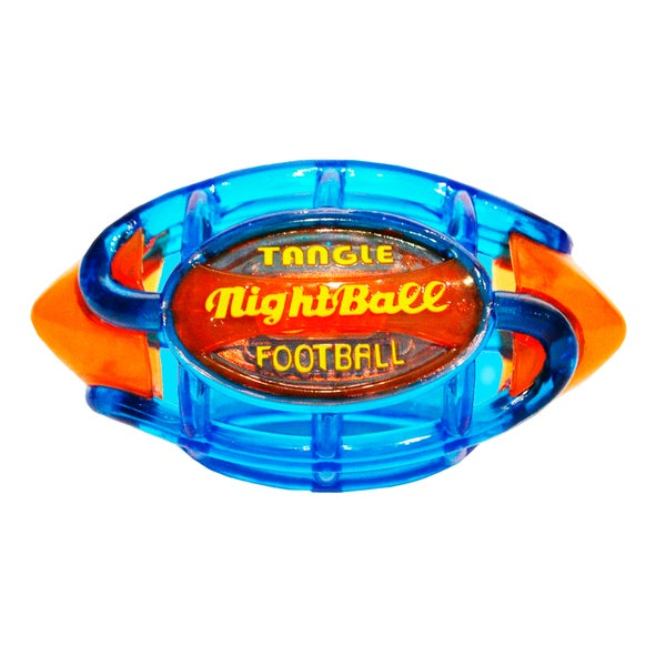 Tangle Small Blue Body/Orange Tips Night Football