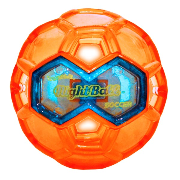 Tangle Large LED Orange Night Soccer Ball