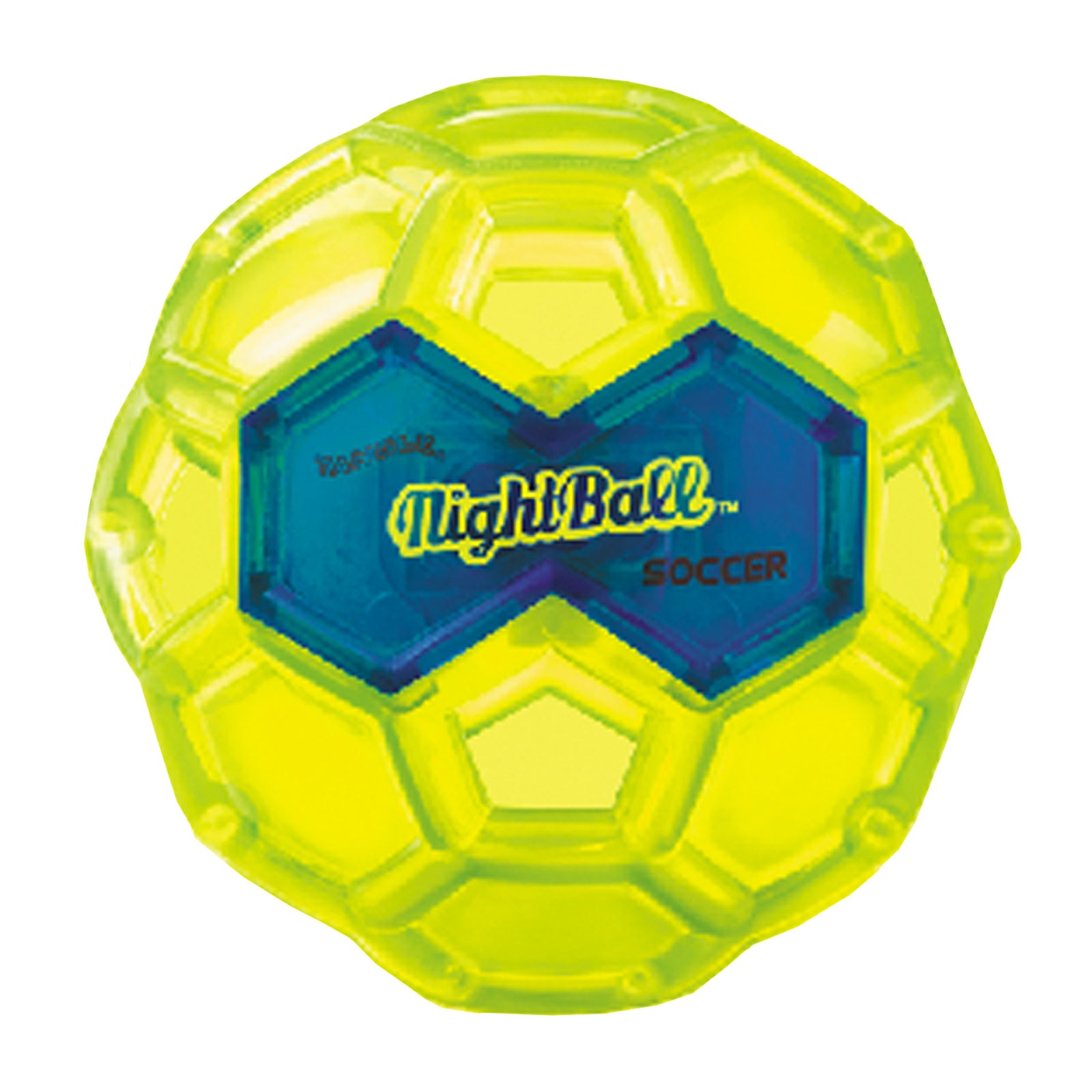 Tangle Small LED Green Night Soccer Ball (1)