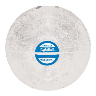 Tangle Pearl White NightBall Basketball