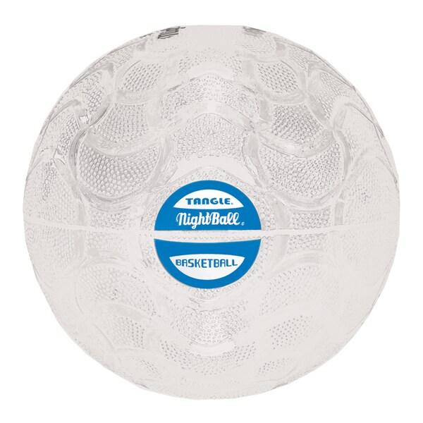Tangle Pearl White NightBall Basketball