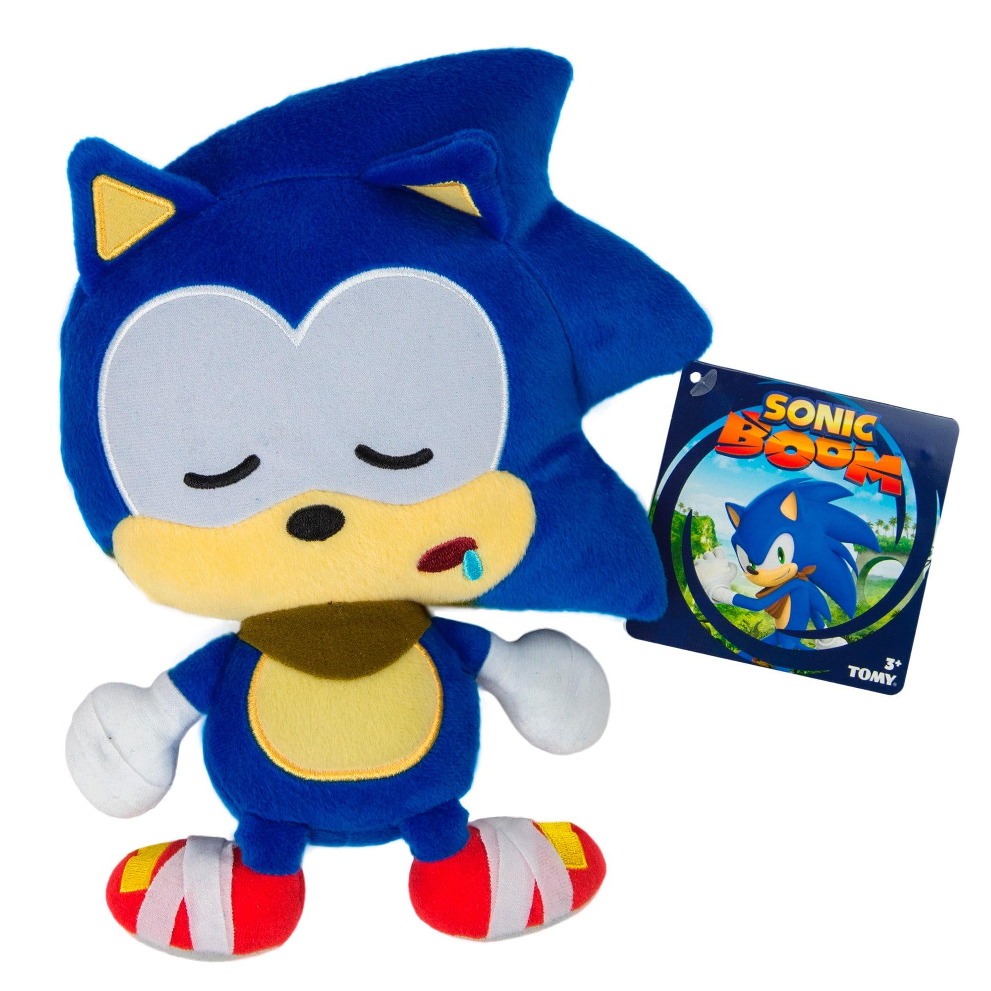 TOMY Sonic Boom Emoji Plush Sleepy Sonic (1)