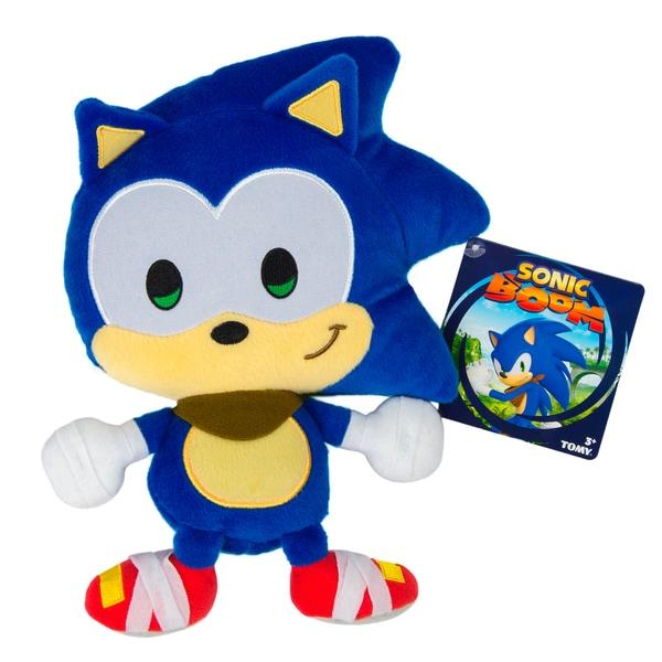 TOMY Sonic Boom Emoji Plush Happy Sonic