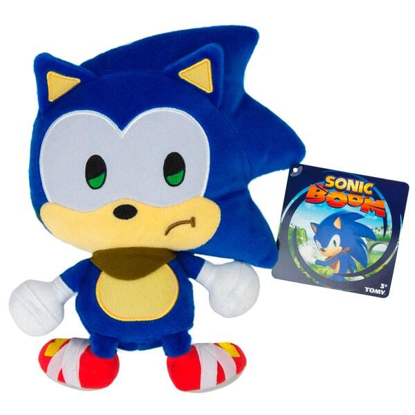TOMY Sonic Boom Emoji Plush Sad Sonic
