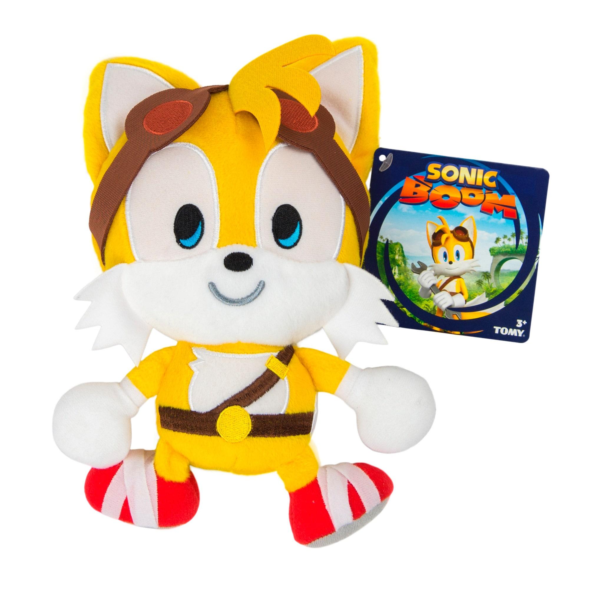 TOMY Sonic Boom Emoji Plush Happy Tails (1)