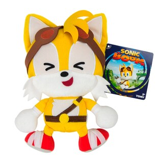 TOMY Sonic Boom Emoji Plush Cute Tails