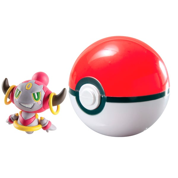 TOMY Pokemon Hoopa Clip N Carry Pokeball